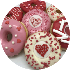 Feestdagen en speciale Donuts