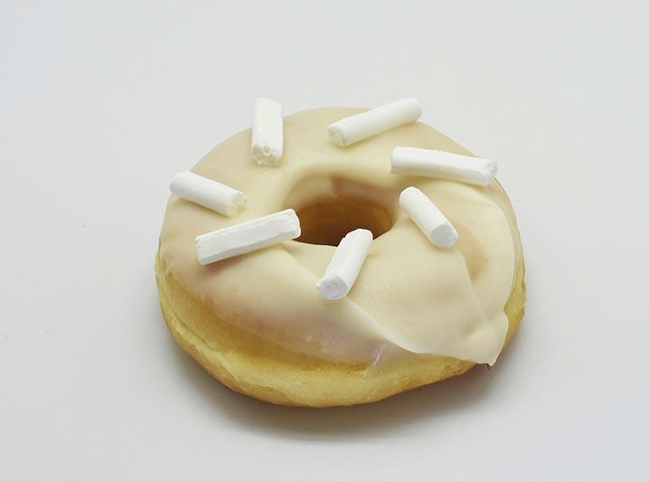 Lemon Meringe Donut - JJ Donuts