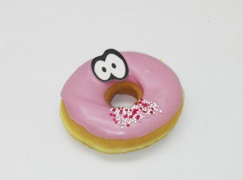 Pink Funny Face Donut foto 2 - JJ Donuts