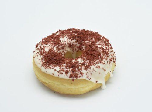 Red Velvet Donut - JJ Donuts