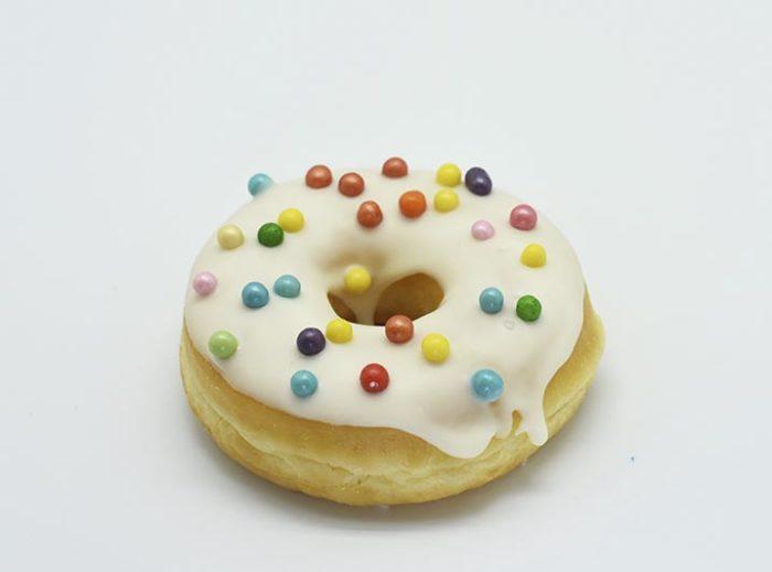 White Treasure Donut - JJ Donuts