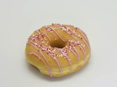 The Naked Donut Roze - JJ Donuts