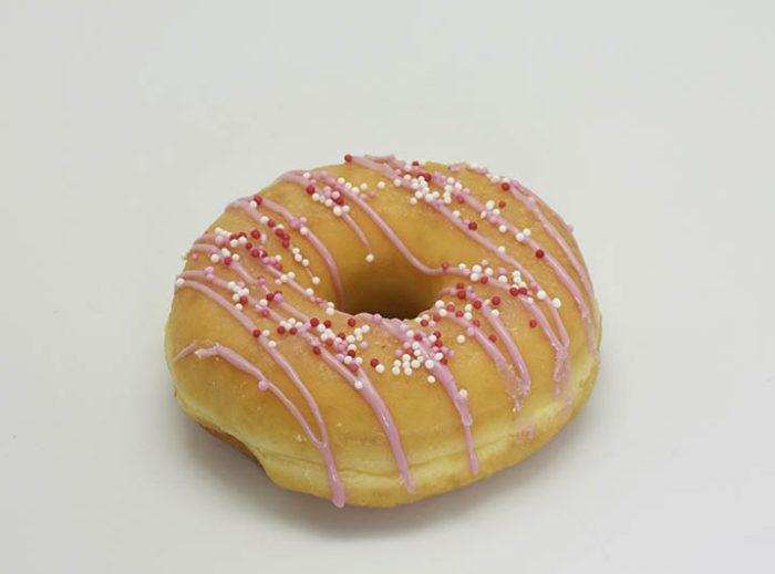The Naked Donut Roze - JJ Donuts