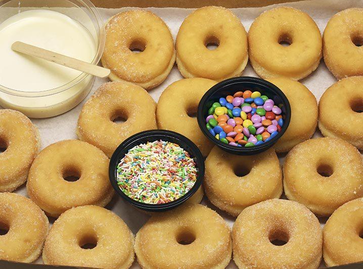 JJ Donuts - Doe het zelf kit mini's - mini Donut zelf samenstellen doos