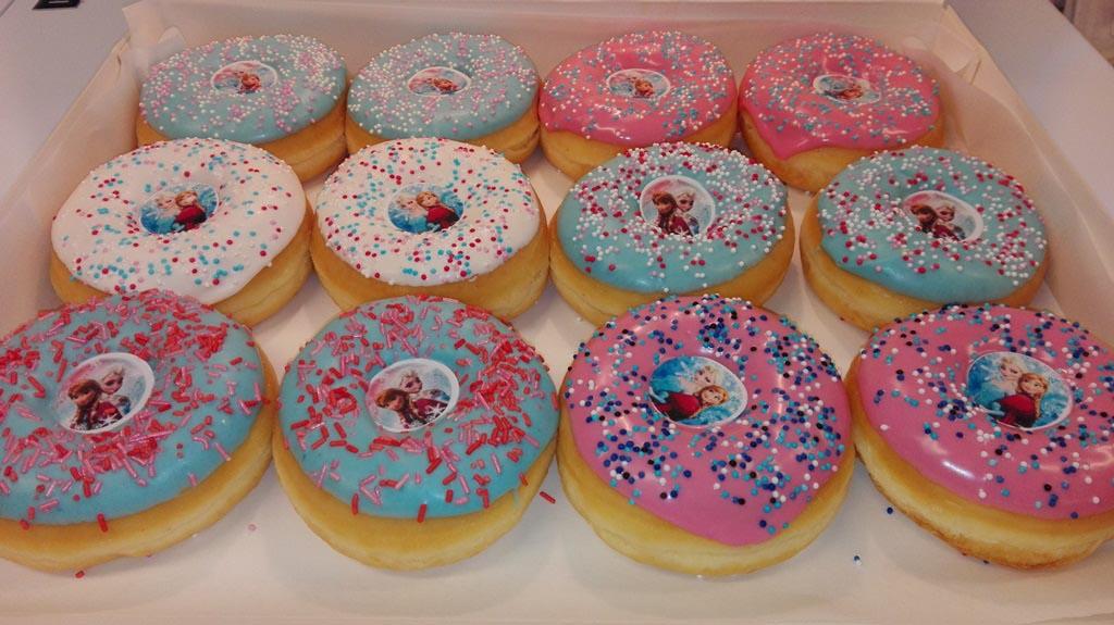 JJ Donuts - inspiratie - frozen donut doos