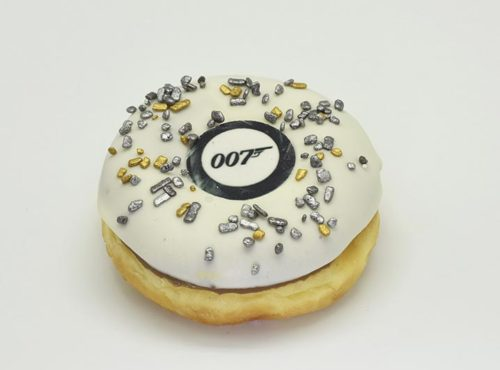 James Bond Donut - JJ Donuts