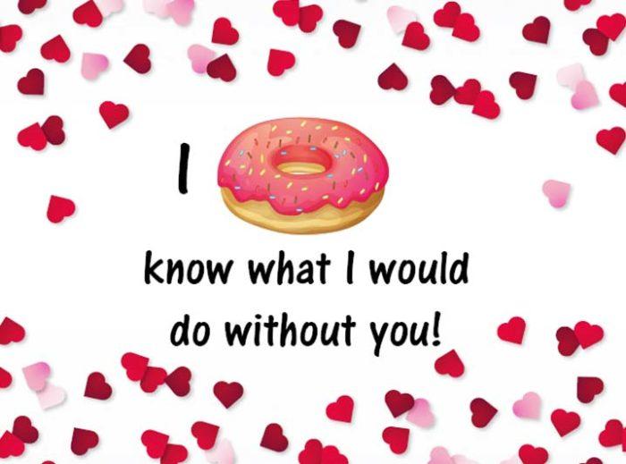 Kaart toevoegen - I donut know donut kaart - JJ Donuts