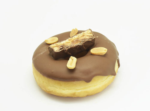 Snickers Donut - JJ Donuts