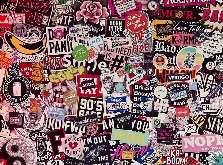 Sticker toevoegen - JJ Donuts