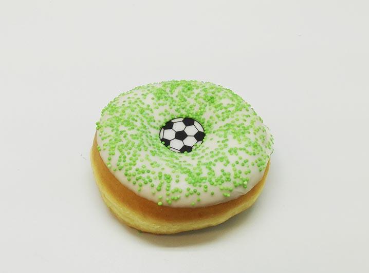 Voetbal Donut - JJ Donuts