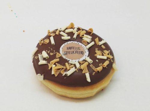 Gefeliciteerd Donut - JJ Donuts