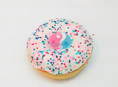 Gender Reveal Party Donut - JJ Donuts