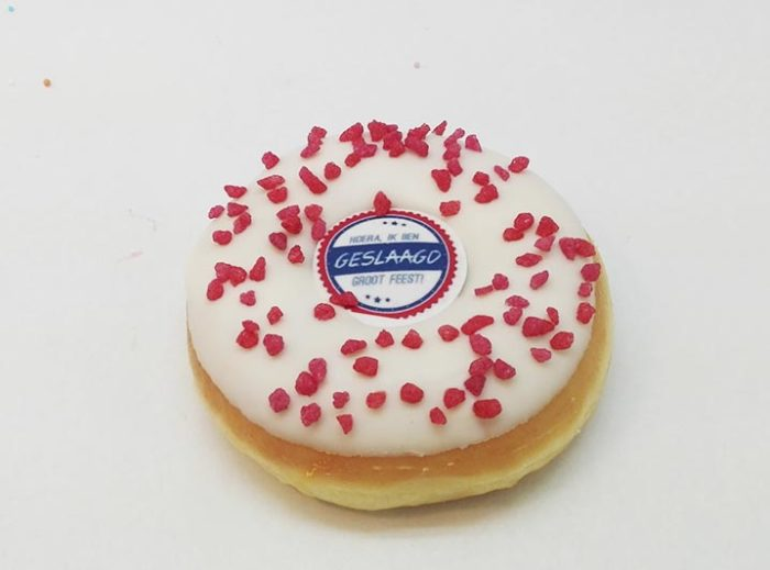 Geslaagd Donut foto 2 - JJ Donuts