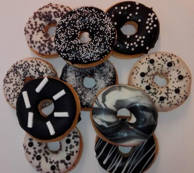 JJ Donuts - Black and White donut mix