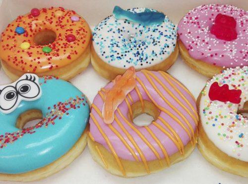 Kinder Donut box - JJ Donuts