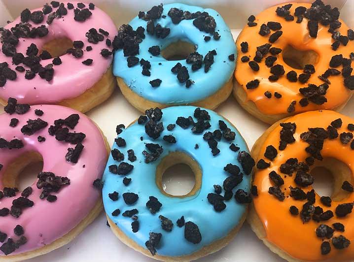 OreoCrunchyFruit Donut box - JJ Donuts