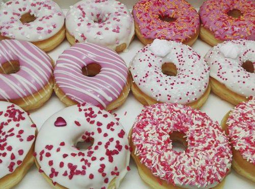 Pink Lady Donut box foto 2 - JJ Donuts