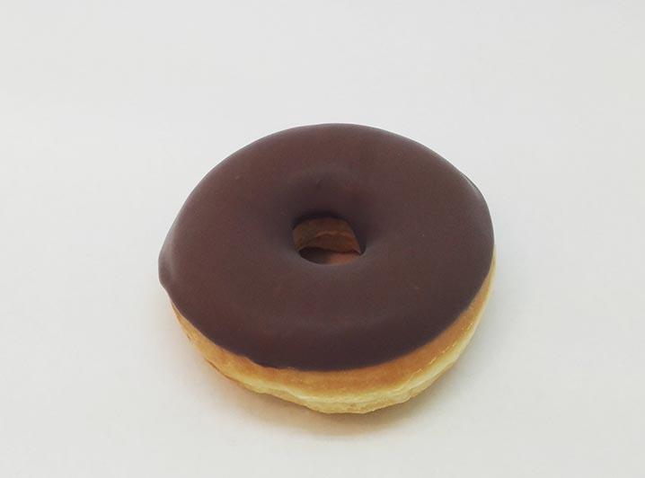 Zelf Samenstellen Donut met Bruine Chocolade dip - JJ Donuts