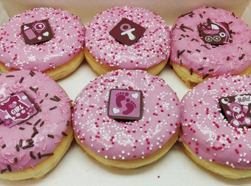 Baby Donut box - JJ Donuts