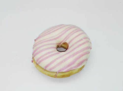 Bruidsdonut Cerise Lijnen - JJ Donuts