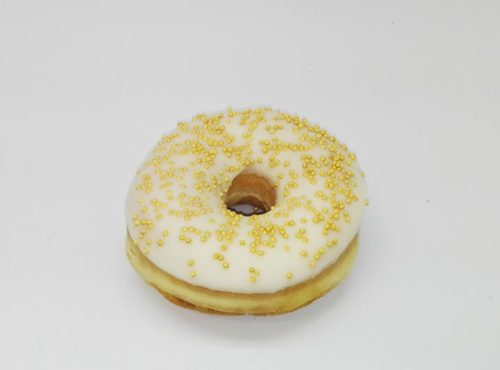 Bruidsdonut Gouden Parels - JJ Donuts