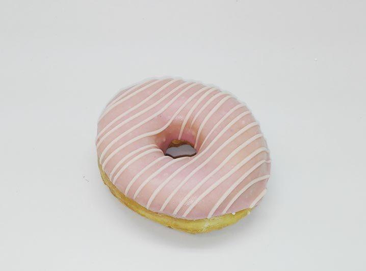 Bruidsdonut Witte Lijnen - JJ Donuts