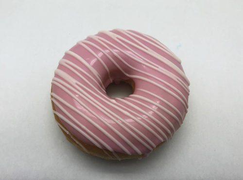 Bruidsdonut Witte Lijnen - bruiloft donut 2019 - JJ Donuts