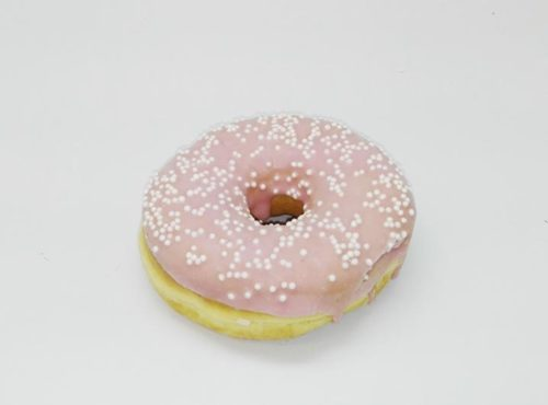Bruidsdonut Witte Parels - JJ Donuts