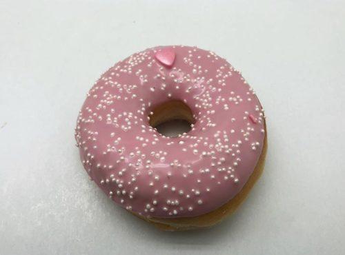 Bruidsdonut Witte Parels - bruiloft donut 2019 - JJ Donuts
