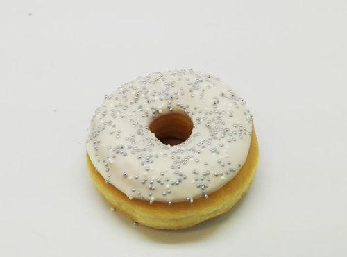Bruidsdonut Zilveren Parels - JJ Donuts