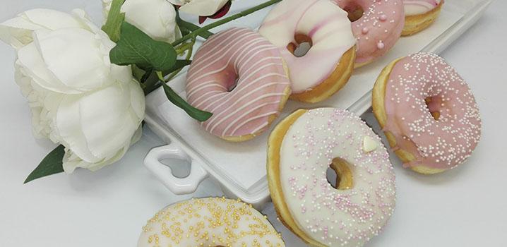 Bruidsdonuts - donut voor bruiloft - JJ Donuts