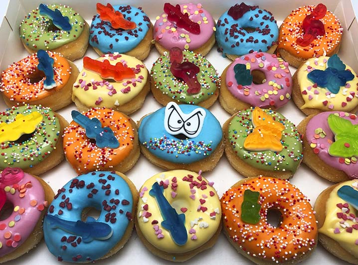 Kids Candy Mini Donut box 2019 - JJ Donuts