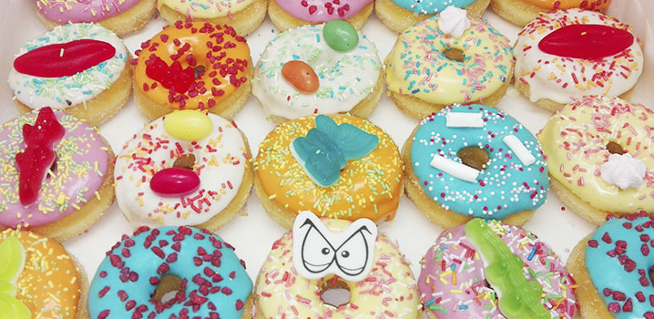 Kinder donuts - donut voor kinderen - JJ Donuts