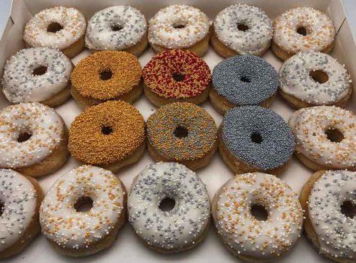 Gala mini donut box 2019 - zakelijke donuts - JJ Donuts