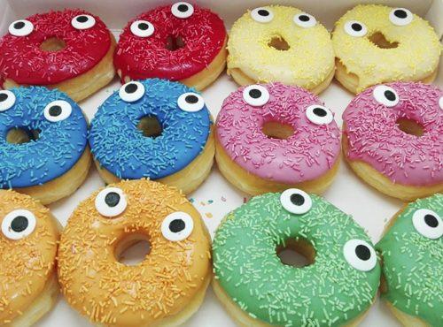 Hagel Gezichtjes Donut box - JJ Donuts