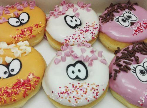 Krullebolletjes Donut box - JJ Donuts