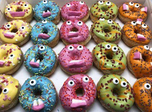 Mini Monsters donut box 2020 - JJ Donuts