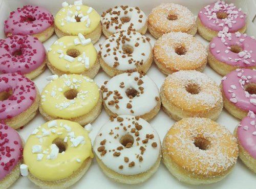 New Flavour mini donut box - zakelijke donuts - JJ Donuts