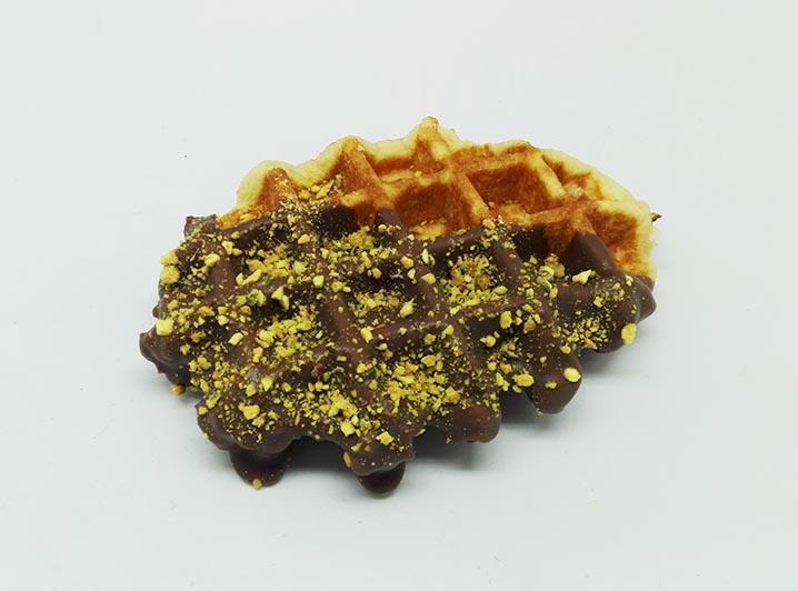 Zelf Samenstellen Wafels met Melk Chocolade dip - JJ Donuts