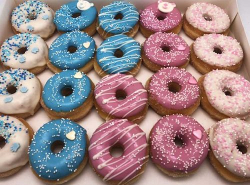 Babyshower Mini Donut box mix - JJ Donuts
