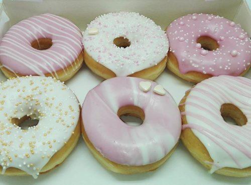 Bruiloft Donut box - JJ Donuts
