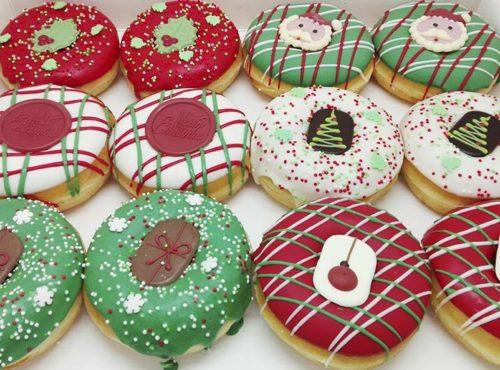 Kerst Choco Donut box - JJ Donuts