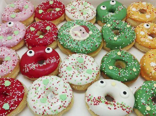 Kerst Kids Donut box - JJ Donuts