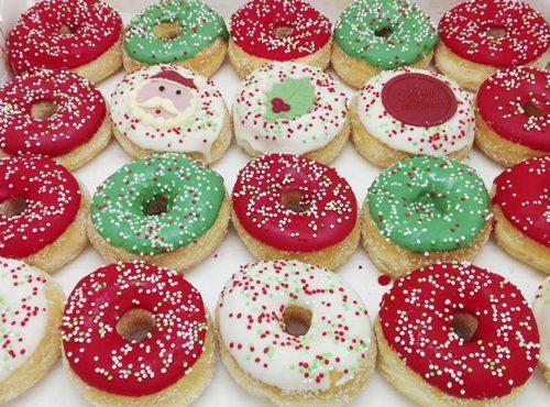 Kerst Mini Donut box - JJ Donuts