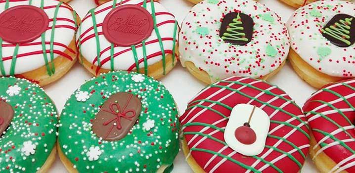 Kerst donuts - donut voor kerst kerstpakket kerstcadeau - JJ Donuts