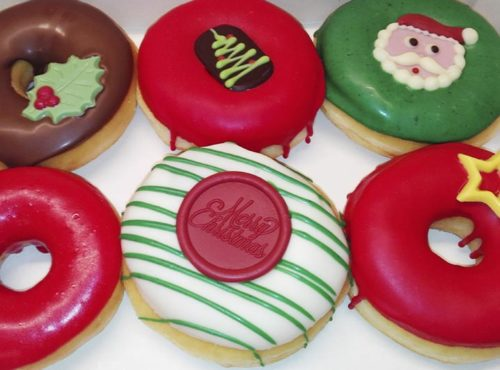 Simply Christmas Donut box - JJ Donuts