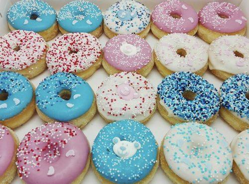 Zwangerschap Donut box - JJ Donuts