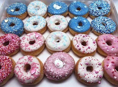 Zwangerschap Donut box mix - JJ Donuts
