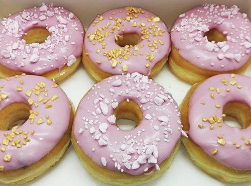 Cerise Rocks Donut box - JJ Donuts