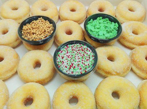 Kerst Doe Het Zelf Mini Donut Kit - JJ Donuts